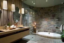 Shower And Tub Combo For Small Bathrooms - small rain shower sunken tub combo houzz