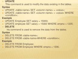 Delete Data From Table Spufi