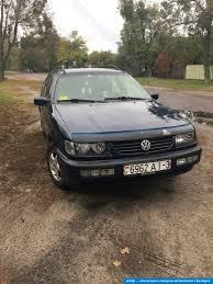 volkswagen hatchback 1995 volkswagen passat b4 1995 дизель механика купить в беларуси