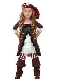 Pirate Halloween Costume Kids Toddler Brown Coat Pirate Costume