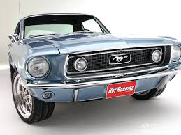 mustang classic painting an unrestored 1968 ford mustang coupe popular