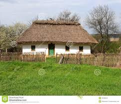 Traditional House Ukrainian Traditional House Stock Vector Image 39018272