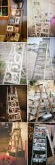 Wedding Arch Ladder 25 Perfect Wedding Decoration Ideas With Vintage Ladders Wooden