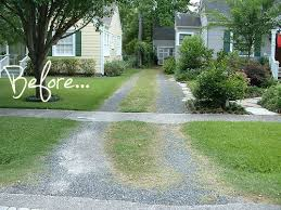 Garden Driveway Ideas Before After A New Driveway Pith Vigor