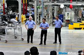 bmw manufacturing plant in india bmw chennai plant tour of 50 localised bmw cars