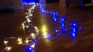 ebay 100 led xmas lights part 1 demo all 8 flashing fairy light