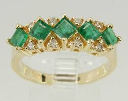 80s wedding band 24 gorgeous emerald engagement rings for the alternative