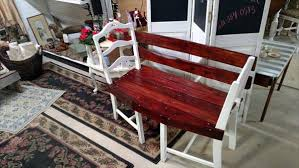 Shabby Chic Patio Decor by Pallet And Old Chairs Patio Bench Pallet Furniture Diy