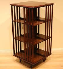 Revolving Bookcase Table Antique Tasmanian Blackwood Revolving Bookcase The Merchant Of Welby