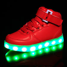 led light up shoes for boys 2017 fashion children kids light up shoes boys girls led luminous