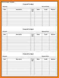 8 rent ledger template excel ledger page