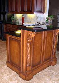 bar height base cabinets island take base cabinet build bar height and attach la cuisine