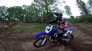 yamaha yz250 ripping tacky sand track youtube