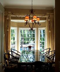 House Design With Windows Window Treatments For Bay Windows In Dining Room Home Interior
