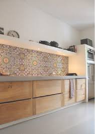wallpaper ideas for kitchen the best patterned tiles and wallpaper ideas for your kitchen