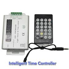 3 channel 12v 24v intelligent light sensor and time programmable