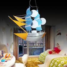 chambre bateau pirate enfants de pendentif lumières voile bateaux pirate navires bateau