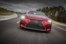 lexus affordable sports car lexus talks up performance in first lc 500 spot