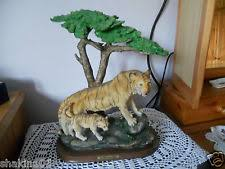 ornaments figurines ceramic pottery tiger collectables ebay