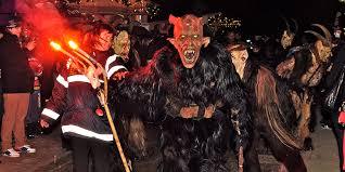 Krampus Halloween Costume Encountering Krampus Terror Holiday Sacred U2013 Sacred