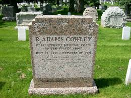 Arlington Cemetery Map R Adams Cowley First Lieutenant United States Army Medical Pioneer