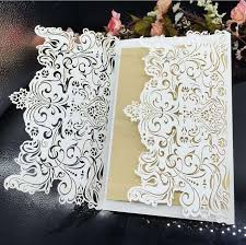 lace wedding invitations raser hollow wedding card christmas cards lace wedding invitations