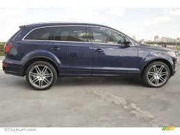 Audi Q7 2007 - mugello blue pearl effect 2007 audi q7 4 2 premium quattro