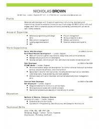 Server Resume Examples by Bartender Resume Samples Skills And Duties Web Developer Example