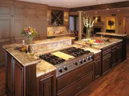Kitchen Islands With Stoves Kitchen Stove Top Home Design