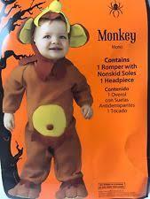 baby monkey costume ebay
