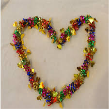 christmas tree tinsel garland christmas lights decoration