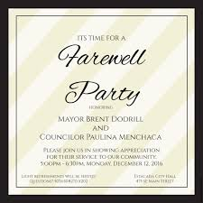 farewell gathering invitation city council meeting estacada oregon