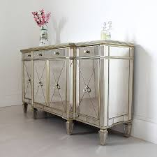 home design glamorous mirrored buffet sideboard traditional