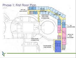 orchestra floor plan plans of bowling green high renovations bgdailynews com