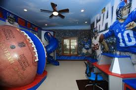 Amazing Kids Football Room Gallery Home Decorating Ideas And - Kids football room
