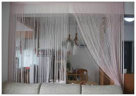 Curtain Room Divider Ideas Decorating Your Home With String Curtains Drapery Room Ideas