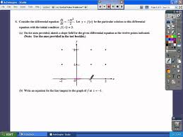 6 1 initial value and slope fields youtube