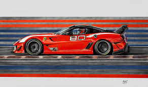 car ferrari drawing ferrari 599xx evo drawing by pavee12120 on deviantart