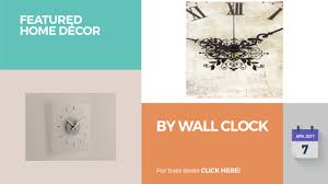 Home Decor Wall Clock