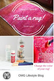 did you know you can paint a rug project ideas and craft
