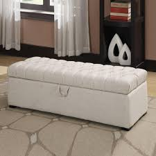long storage bench ottoman storage decorations
