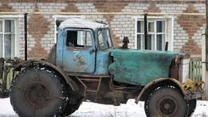 Russian Home 1545 Home Made Tractor Russian Cars Youtube