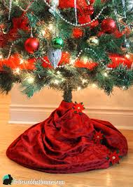 decoration tree skirts to make diy skirt happy