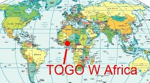 togo location on world map enter togo november 6 2010