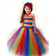 aliexpress com buy keenomommy girls couture rainbow tutu dress