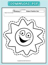 4 best images of sun printable worksheets coloring pages sun