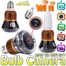 wifi camera light bulb socket 2018 light bulb camera p2p ir night vision wifi mini ip camera full