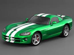 Dodge Viper Green - quick color change 4 steps