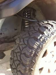 Fierce Attitude Off Road Tires Goodyear Fierce Attitude M T Tires Review Tacoma World