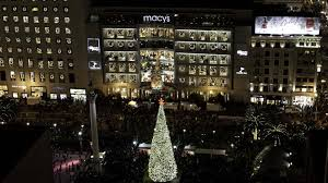 and festivities at macy s union square in san